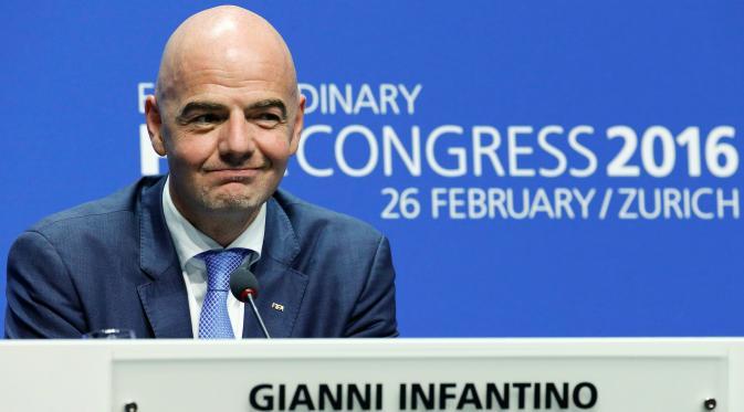 Presiden baru FIFA Gianni Infantino Penganti Sepp Blatter