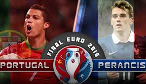 Puncak turnamen Euro Piala Eropa 2016 Portugal Vs Prancis